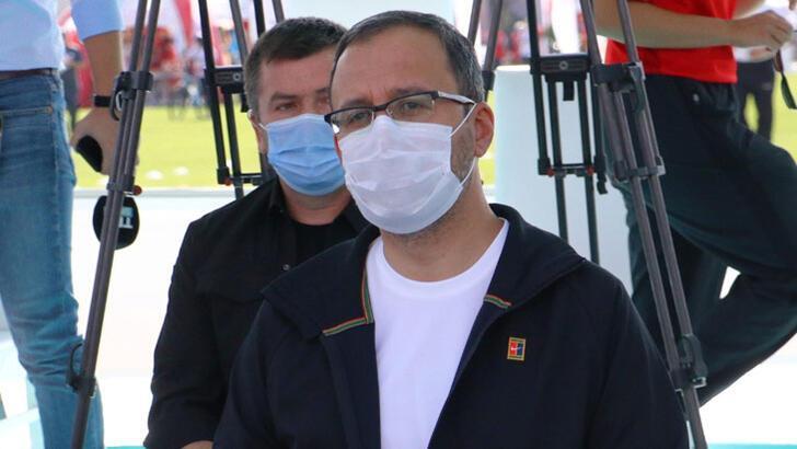 Bakan Kasapoğlu, Avrupa Spor Haftası etkinliklerine katıldı