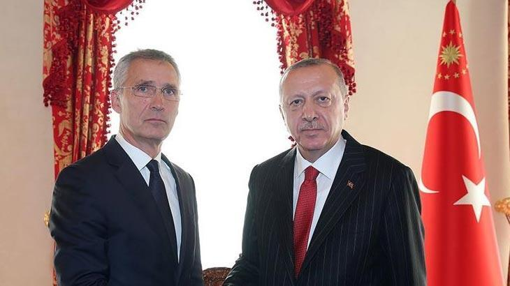 Cumhurbaşkanı Erdoğan ile Jens Stoltenberg görüştü