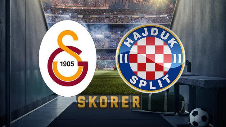 Galatasaray Avrupa'da sahne alıyor! Galatasaray-Hajduk Split maçı ne zaman saat kaçta hangi kanalda?