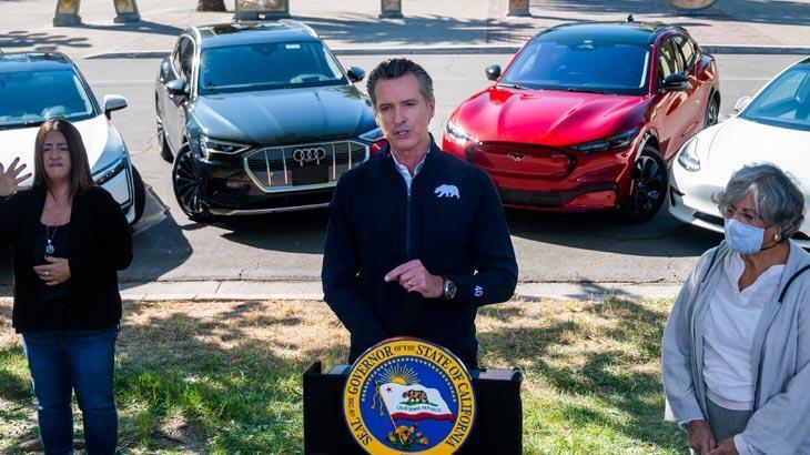 California'da 2035'e kadar benzinli ve dizel araçlar yasaklandı