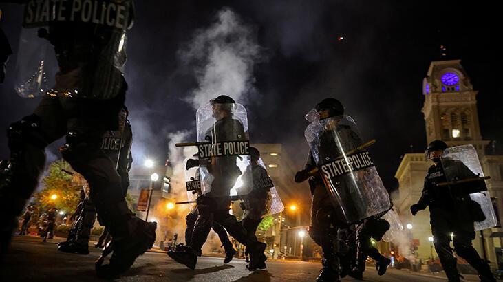 ABD'de Taylor davası sonrası başlayan protestolarda bir polis vuruldu