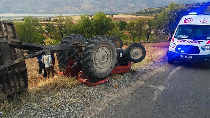 Adıyaman'da feci kaza! Baba oğul ölümden döndü