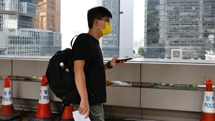 Hong Konglu aktivist Joshua Wong gözaltına alındı