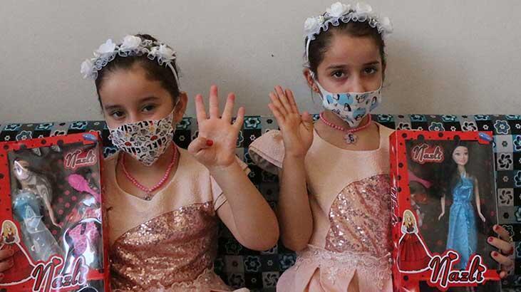 Suriyeli ailenin ikizlerinin adı 'Türkiye' ve 'Suriye'