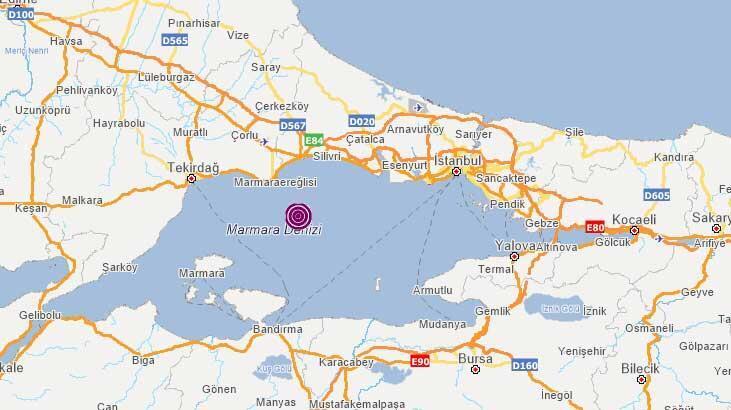Son dakika... Deprem mi oldu? İstanbul da hissedilen depremin ardından Marmara Ereğlisi'nde bir deprem daha!