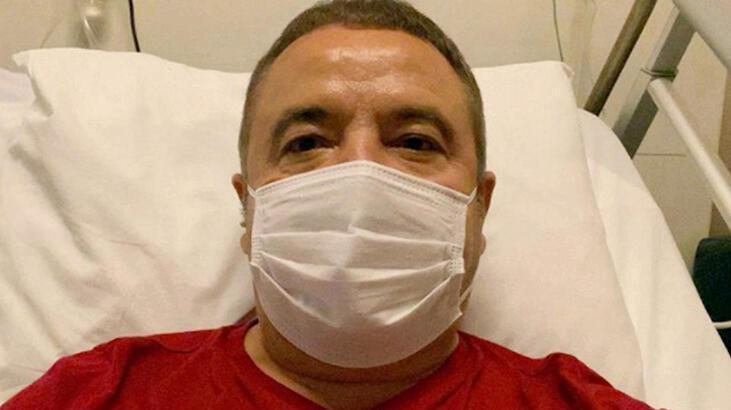 Corona virüs tedavisi gören Muhittin Böcek, Akdeniz Üniversitesi Hastanesine sevk edildi