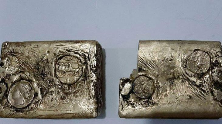 Muş'ta bulundu! Antik Yunan'dan kalma külçe altın...