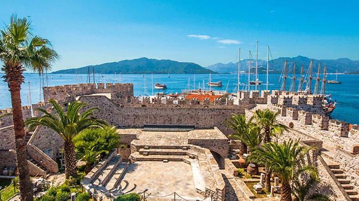 Marmaris Kalesi Muğla İlinde Nerede? Tarihi Kalenin Özellikleri Ve Hikayesi