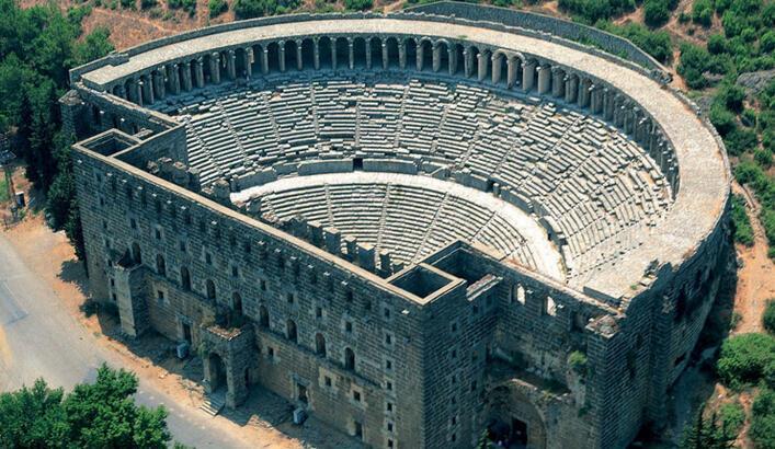 Aspendos Antik Kenti Antalya İlinde Nerede? Giriş Ücreti, Tarihçesi Ve Özellikleri