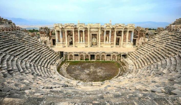 Hierapolis Antik Kenti Denizli İlinde Nerede? Giriş Ücreti, Tarihçesi Ve Özellikleri