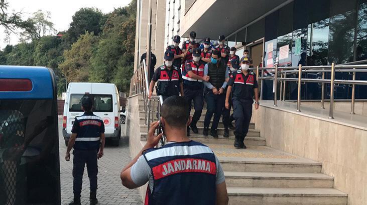 Şantiyeden kablo çalan 4 kişi tutuklandı