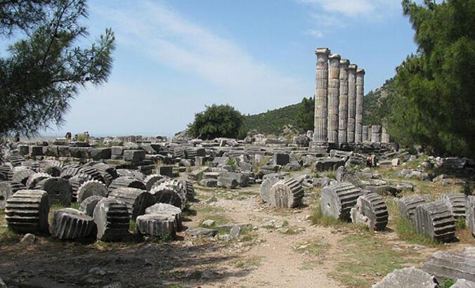 Priene Antik Kenti Aydın İlinde Nerede? Giriş Ücreti, Tarihçesi Ve Özellikleri