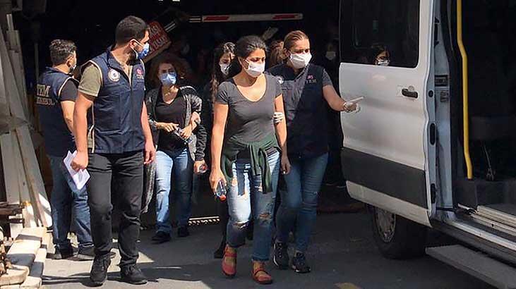 Kobani eylemlerine ilişkin soruşturmada İstanbul'da 9 kişi gözaltına alındı