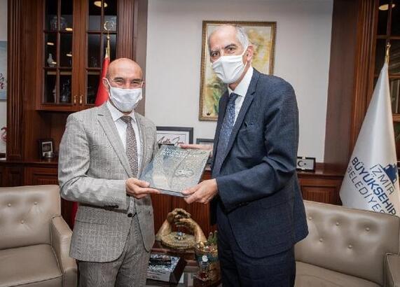 Tunç Soyer, Fransa'nın Ankara Büyükelçisi ile buluştu