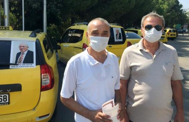 Taksicilerden Prof. Dr. Tuncer Karpuzoğlu'na vefa örneği