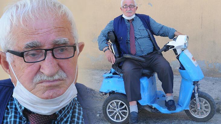 78 yaşında 3'üncü eşini bulmak için duraklara ilan astı