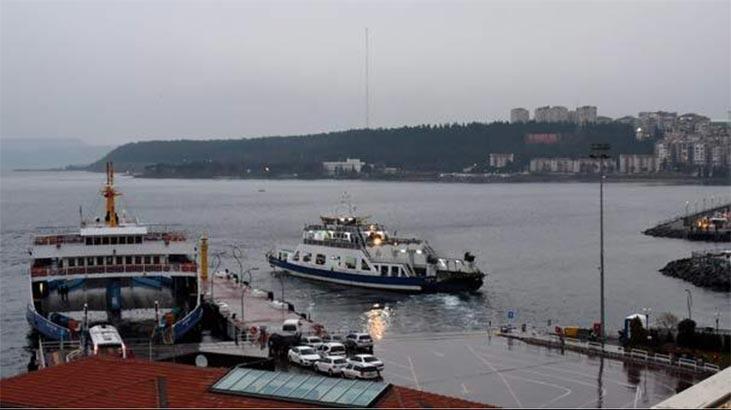 Gökçeada'da bazı feribot seferleri iptal edildi