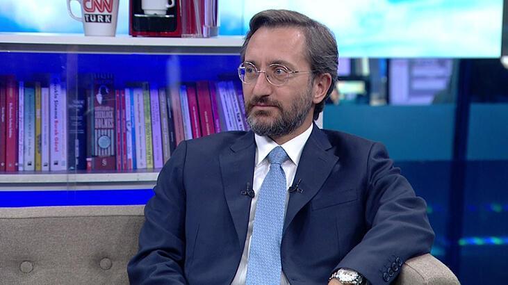 Son dakika! İletişim Başkanı Fahrettin Altun CNN TÜRK'te