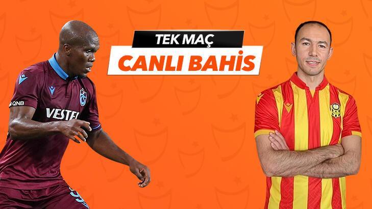 Trabzonspor - Yeni Malatyaspor maçı Tek Maç ve Canlı Bahis seçenekleriyle Misli.com'da