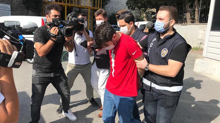 Çapa'da sağlık çalışanını darbeden saldırgan adliyeye sevk edildi