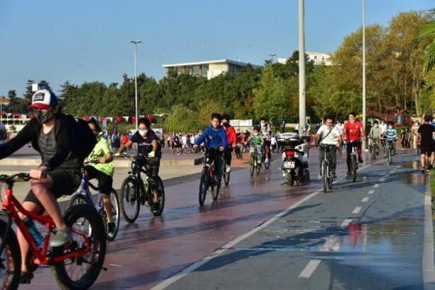 Tuzla'da Avrupa Hareketlilik Haftası kapsamında spor etkinliği düzenlendi