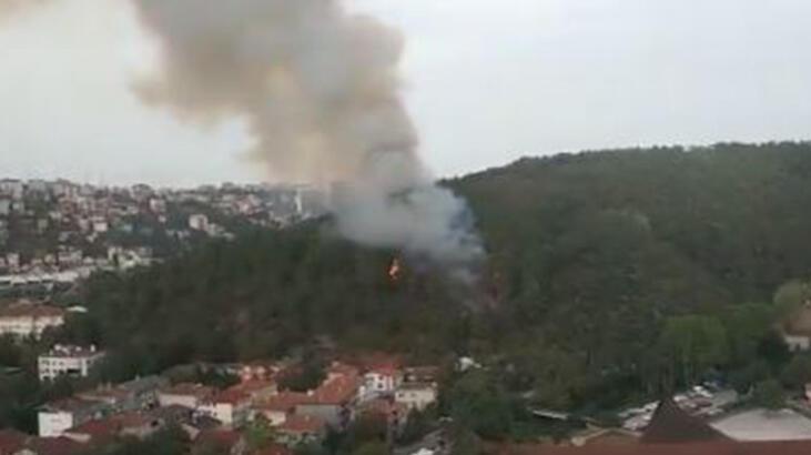 Son dakika! Anadolu Hisarı'nda yangın!