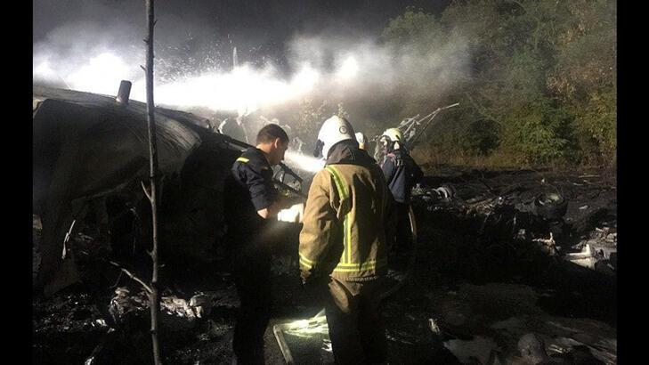 Ukrayna'da düşen uçağın karakutusuna cesetler taşındıktan sonra ulaşılacak