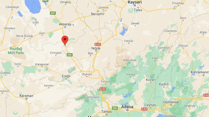 Son dakika... Aksaray'da 3.0 büyüklüğünde deprem