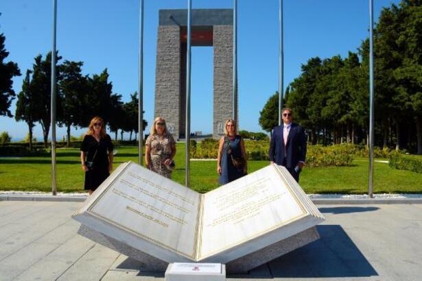 Hırvatistan, Slovakya ve Arnavutluk Başkonsolosları Tarihi Alanı ziyaret etti