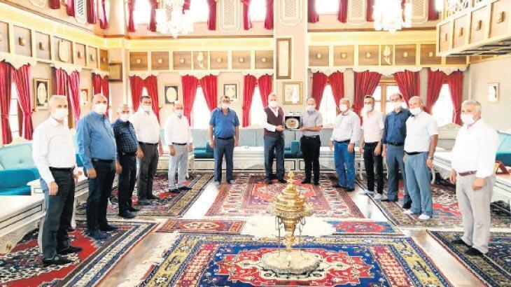 Başkan Çerçi'ye hizmet teşekkürü