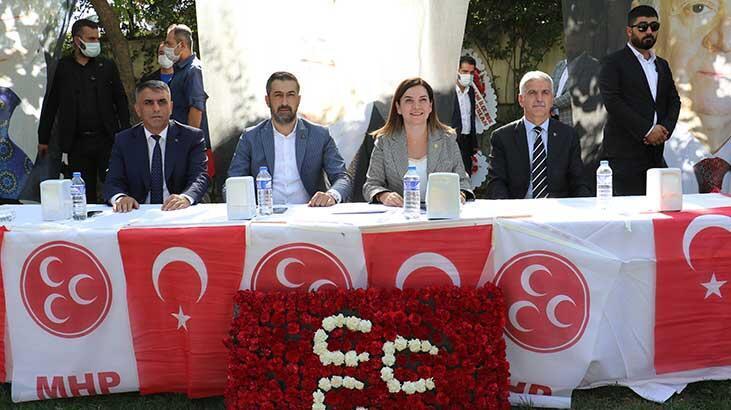 MHP'den Diyarbakır'da gövde gösterili kongre