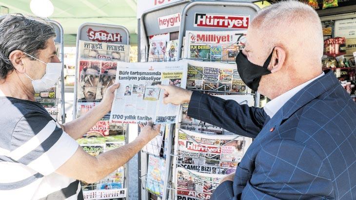 Gazete büfeleri, İstanbul Büyükşehir Belediyesi'ne sordu: 300 bin TL neye göre belirlendi?