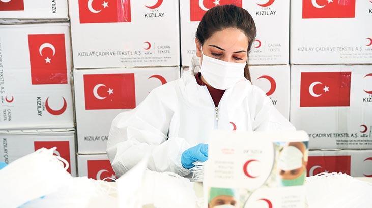 Türk Kızılay'dan ücretsiz maske