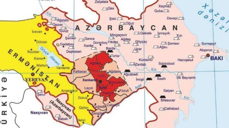 Dağlık Karabağ nerede? - Dağlık Karabağ haritası ve sorunu