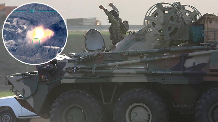Azerbaycan Ermenistan askeri karşılaştırma