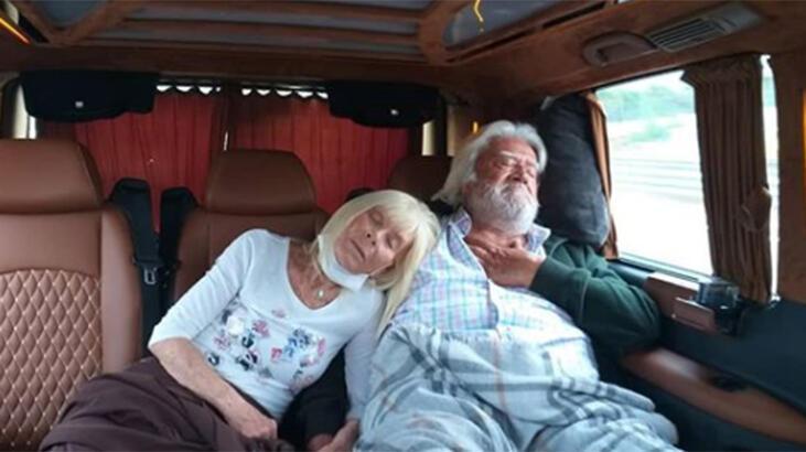 Cüneyt-Betül Arkın çiftinin set yorgunluğu