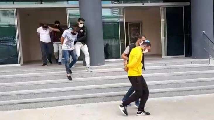 Bursa'da 7 uyuşturucu şüphelisinden 2'si tutuklandı