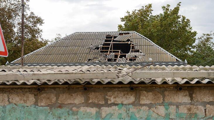 Ermenistan ordusu sivillerin evini vurdu