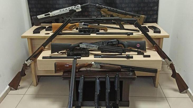 Denizli'deki silah kaçakçılığı operasyonunda 1 tutuklama