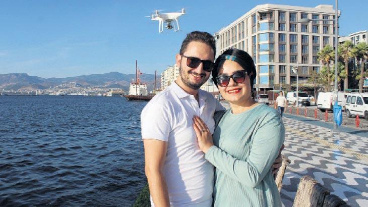 Drone'la yüzük