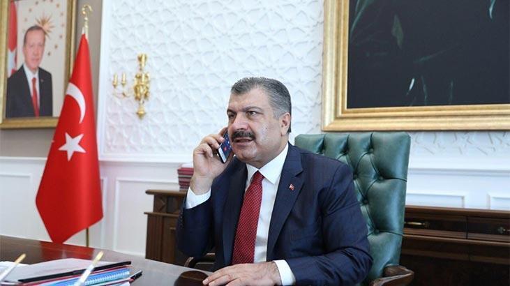 Bakan Koca,  Azerbaycan Sağlık Bakanı ile görüştü