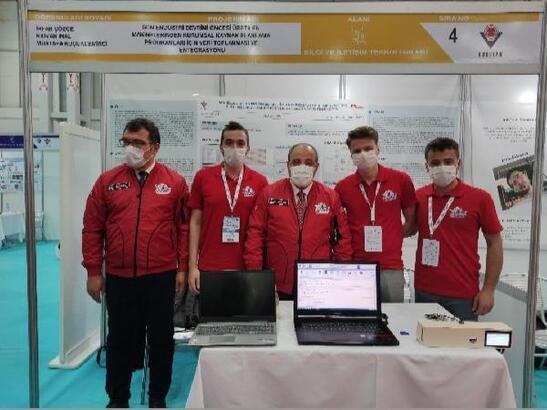 Konya Gıda ve Tarım Üniversitesi öğrencilerinden Teknofest'te birincilik ödülü