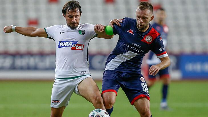 Antalyaspor - Yukatel Denizlispor: 1-0