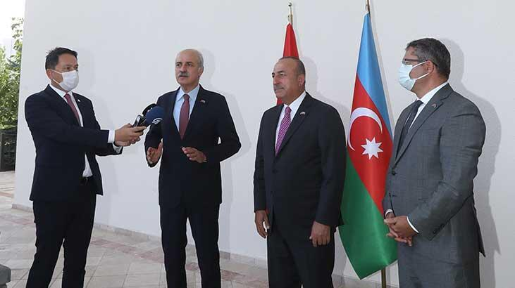 Numan Kurtulmuş: 'Her hal ve şart altında Azerbaycan'ın yanındayız'