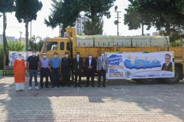Erdemli'den Türkiye'nin 81 ilindeki 81 okula limonata
