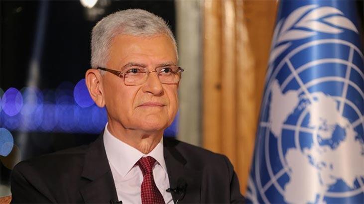 """BM Genel Kurul Başkanı Bozkır'dan """"küresel sorunlara çok taraflı çözüm"""" mesajı"""