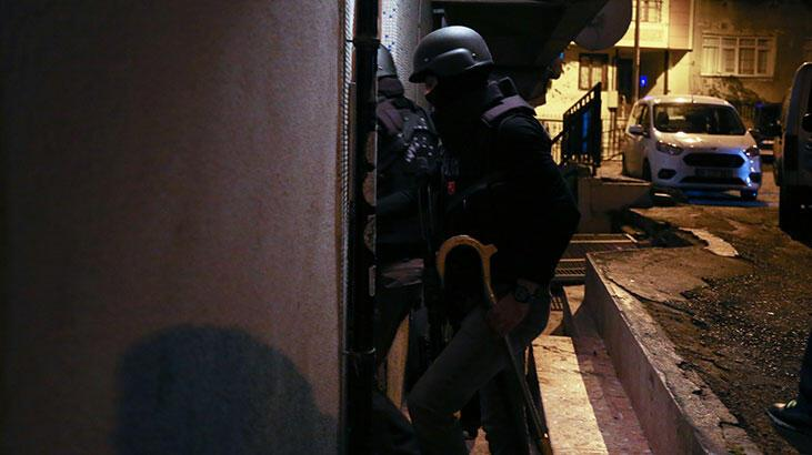 İstanbul'da eş zamanlı DEAŞ operasyonu! Çok sayıda gözaltı var