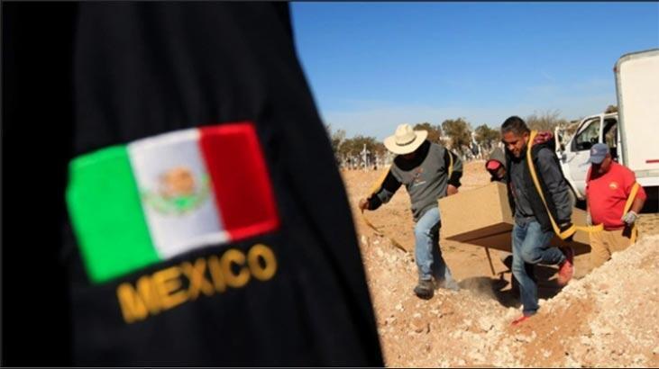 Korkunç! Meksika'da 2 ayrı gizli mezar bulundu