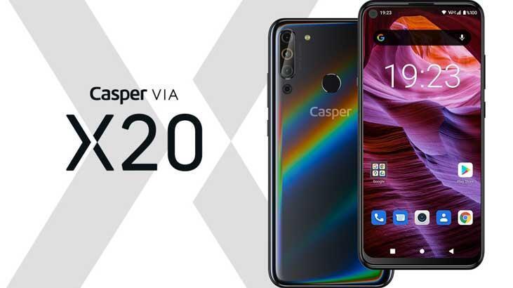 Casper VIA ailesinin en yeni üyesi x20 tanıtıldı