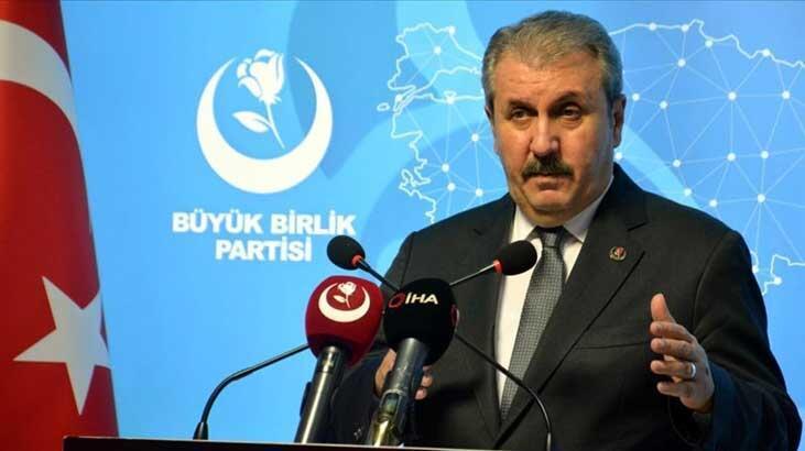 Mustafa Destici: 'Kardeşlik hukuku neyi gerektiriyorsa onu yapacağız'
